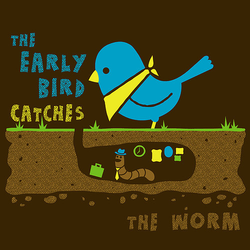 an early bird catches the worm essay